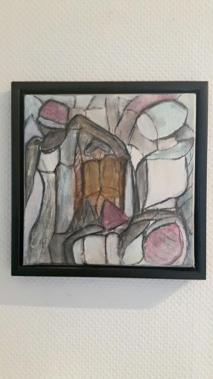 Acryl auf Leinwand/ 40x40 cm