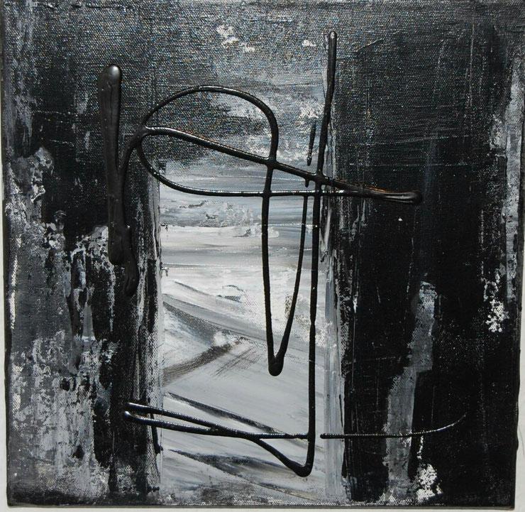 Acryl auf Leinwand/ 40x40 c