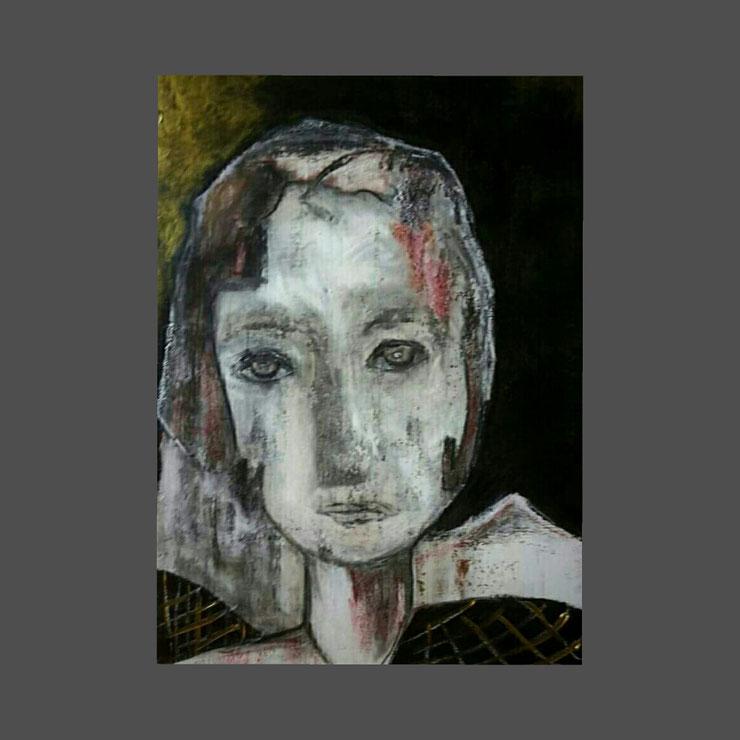 Acryl auf Leinwand/ 70x90 cm