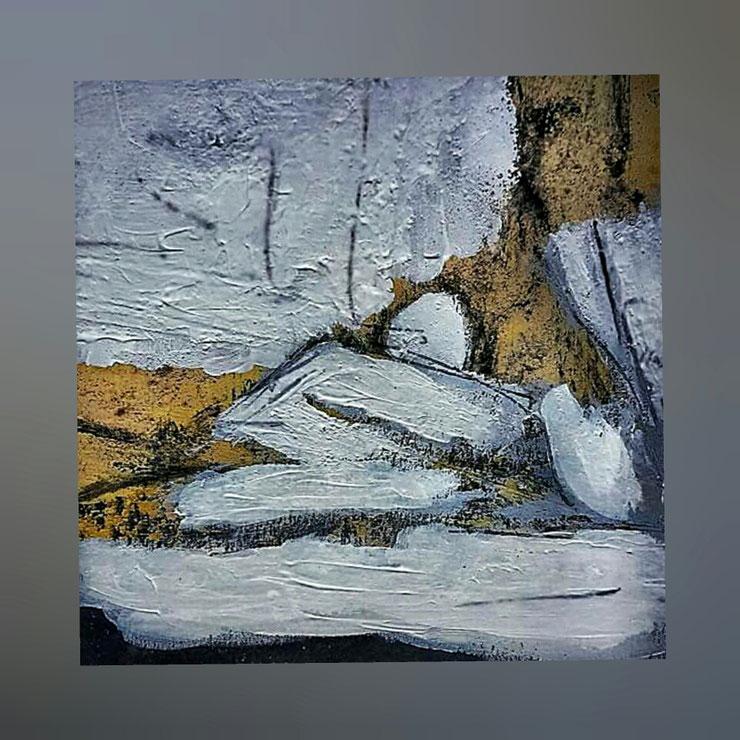 Acryl  auf Leinwand / 20x20 cm