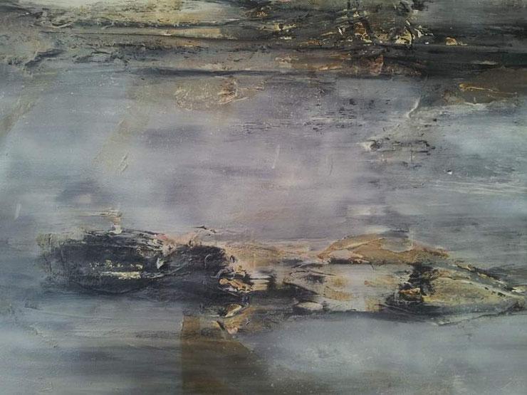 Acryl auf Leinwand/ 100 x120 cm