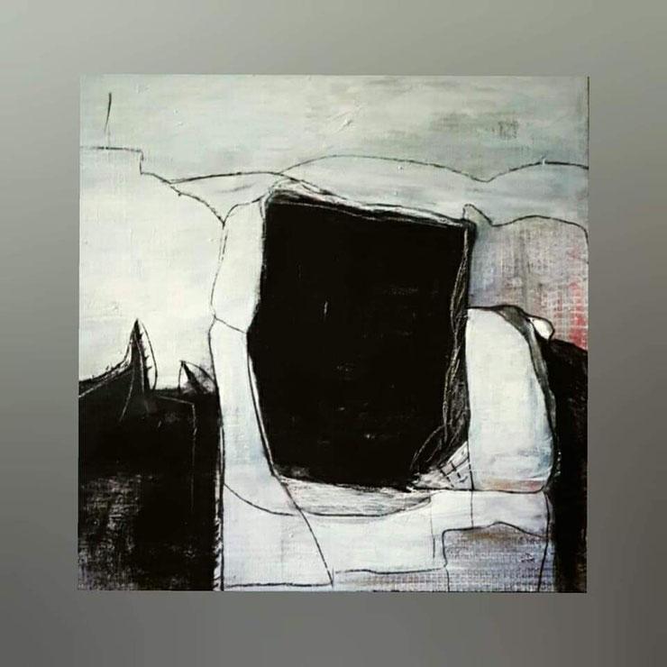 Acryl auf Leinwand/ 60x60cm