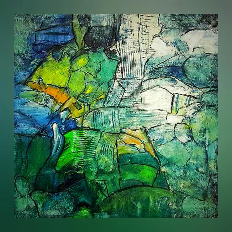Acryl auf Leinwand / 60x60 cm