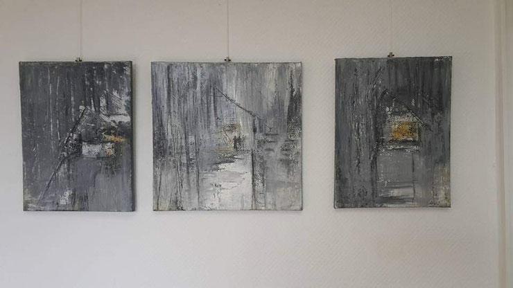 Acryl  auf Leinwand/ 30x40cm / 40x40cm