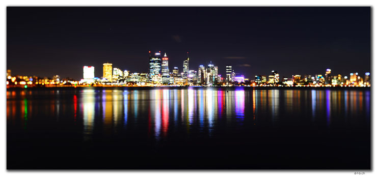 Perth City in the night