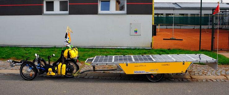 Bild: Solartrike: Solatrike II in Uhersky Brod, Tschechien.