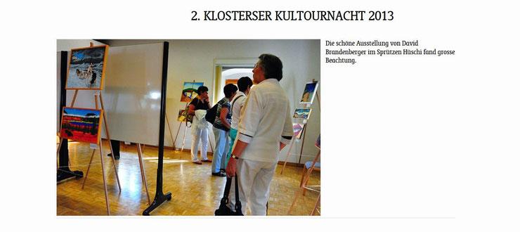 Bild:2.Kultournacht Klosters,d-t-b,d-t-b.ch,Webseite,Präkuscha,