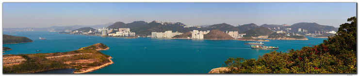 Panorama from Lamma Island, Hong Kong