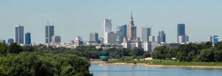 ワルシャワ遠景