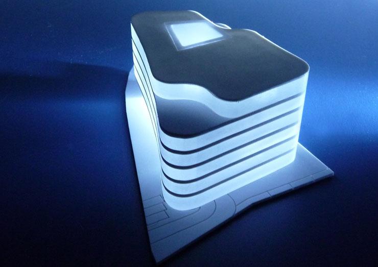 Architekturmodell M.: 1:100