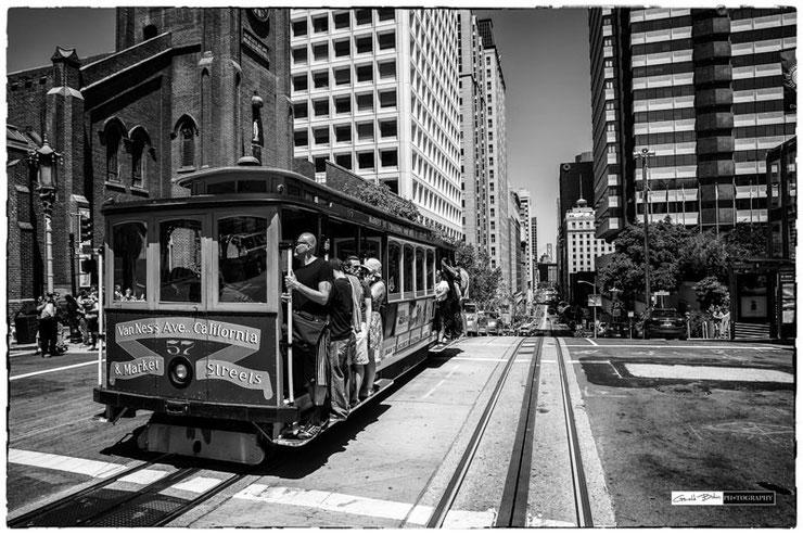 San francisco tramway, cable car
