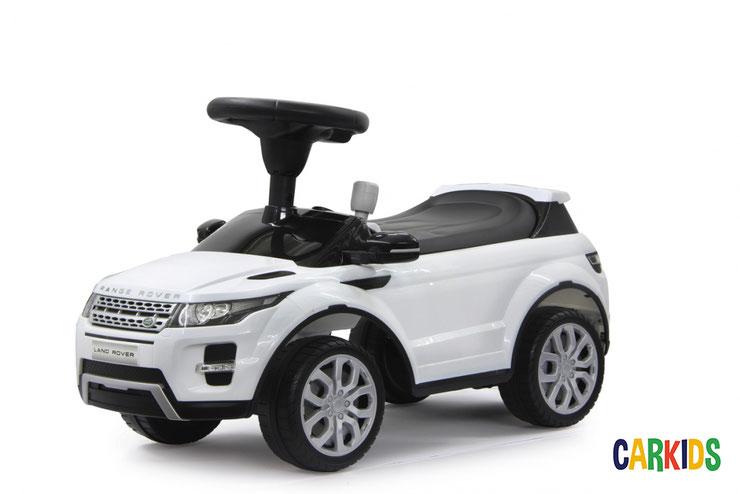 porteur range rover evoque blanc cr ateur de bonheur voitures lectriques. Black Bedroom Furniture Sets. Home Design Ideas