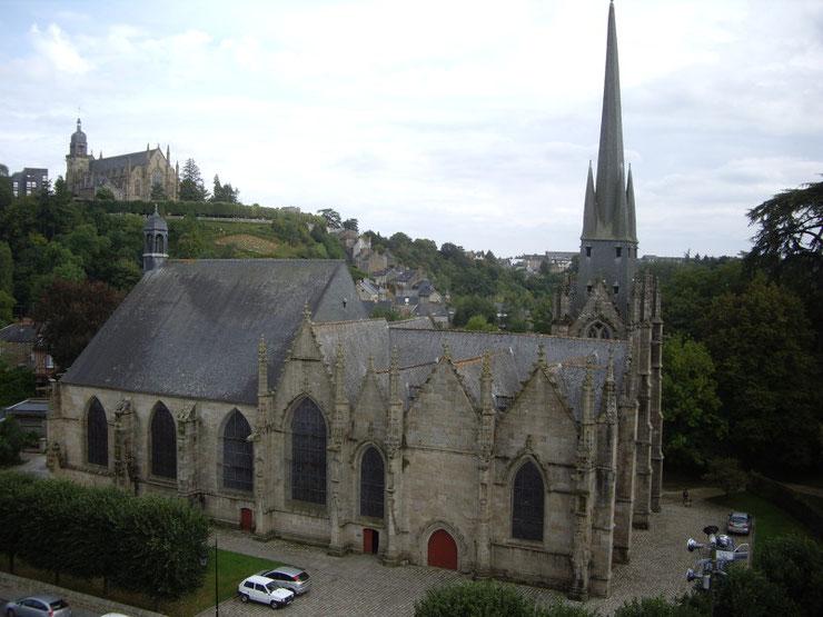 Eglise Saint-Sulpice -Fougères© Marina Maret CDT 35