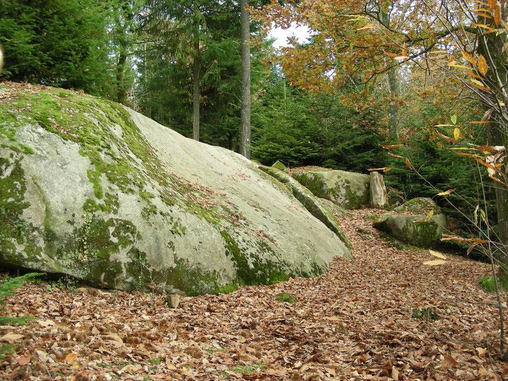 La pierre écriante©Région Bretagne