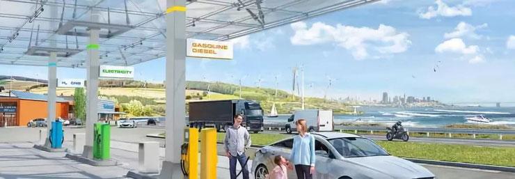 电动驾乘和电气化趋势 (© Continental AG)  (图片来源:大陆集团官网)