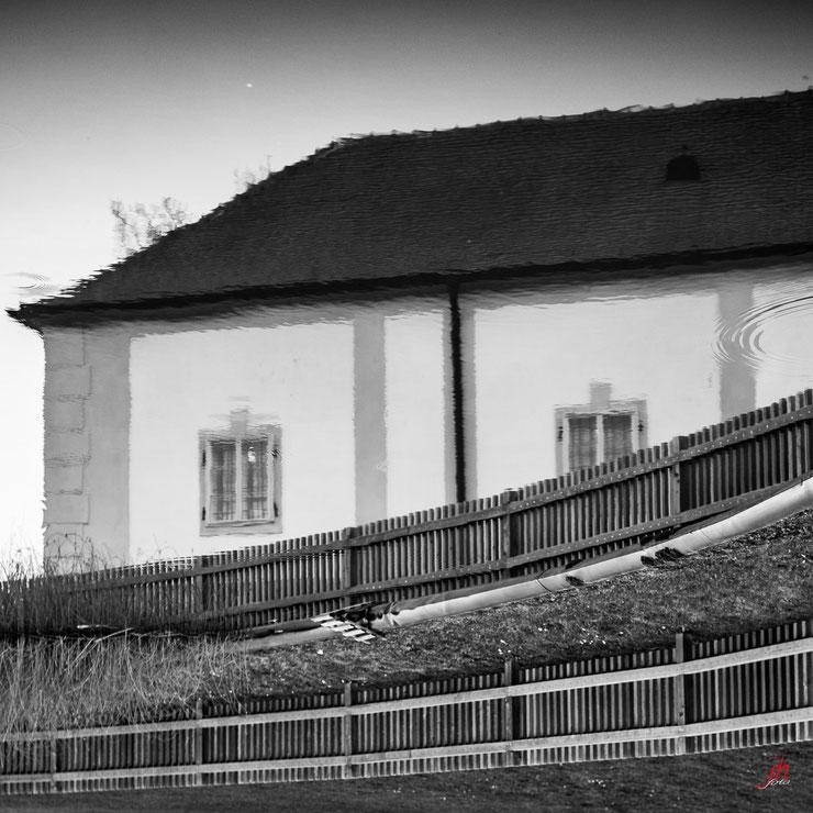 Schlosshof Spiegelung