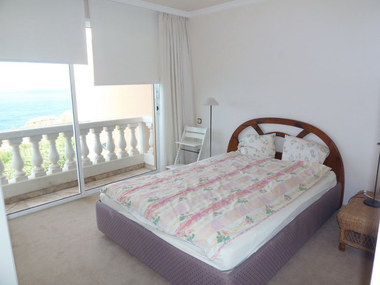 2. Schlafzimmer auch mit Meerblick