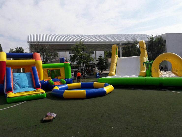 Juegos Acuaticos O Inflables De Agua Tobogan Acuatico