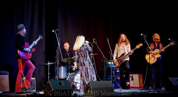 Lisa Lystam Family Band 2018