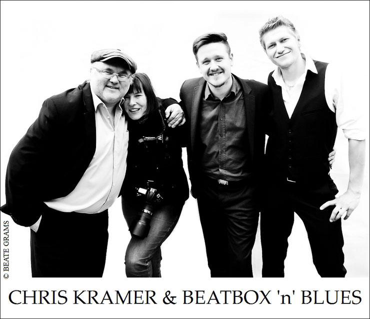 Chris Kramer,  BLUESBEA, Kevin O'Neal und Sean Athens .