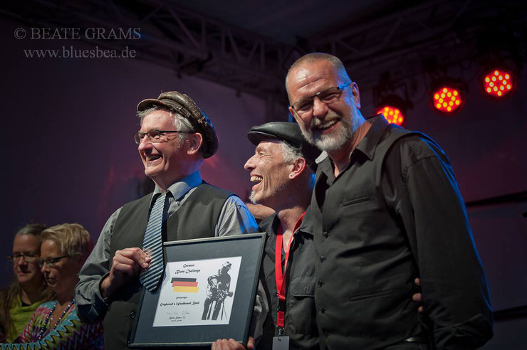 Gewinner der German Blues Challenge 2017 - Greyhound's Washboard Band