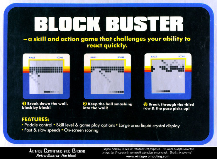 Block Buster microvision