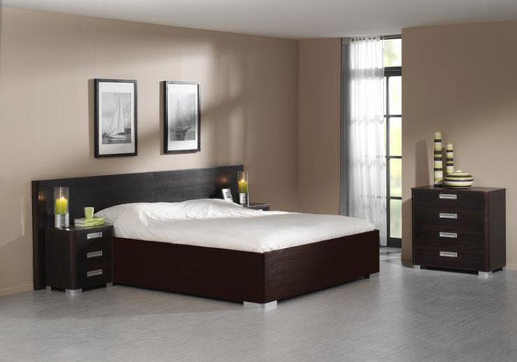 Op deze afbeelding ziet u het ledikant Hyatt. Bij de bedbak is het hoofdeinde gelijk aan het voetbord. Foto van de bedbak volgt.
