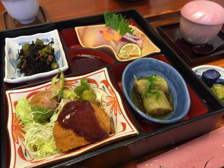 割烹 伊志川のランチ1,000円(税込)