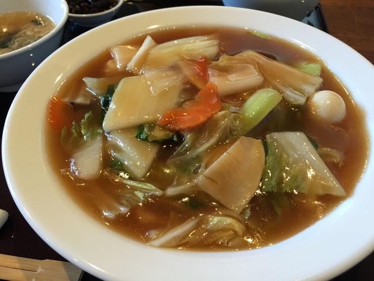 中国料理 柘のランチメニュー「八宝菜」