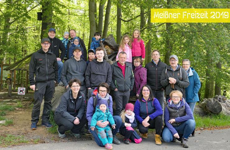 Freiwillige Feuerwehr Lüderbach - Familienfahrt zum Feuerwehrheim Sankt Florian am Hohen Meißner im Mai 2019
