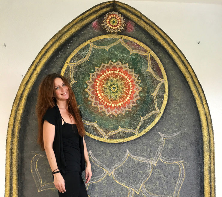 """Mandala """"Holy Window"""""""