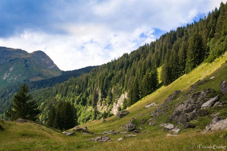 les lindarets montriond avoriaz paysage montagne
