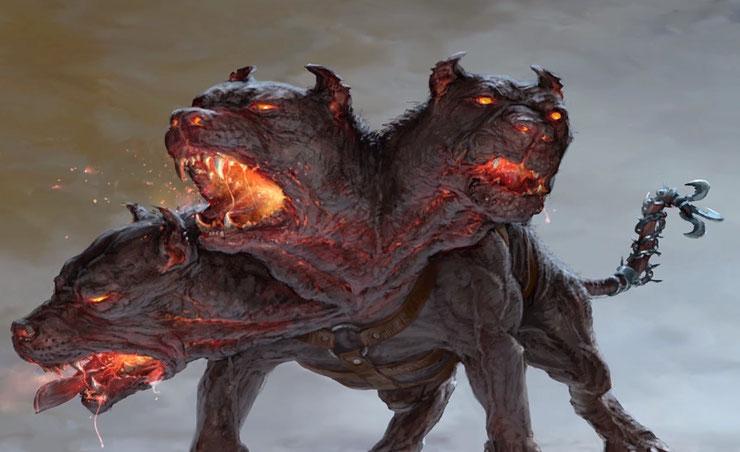 liste des animaux légendaires fantastiques mythologiques cerbere