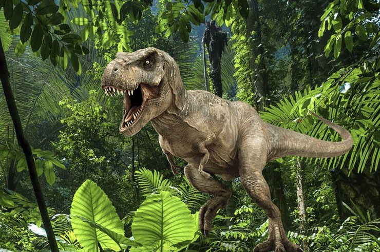 t-rex animaux disparus tyrannosaure dinosaure jurassic