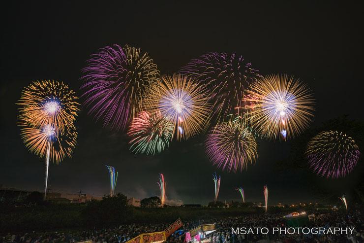 """Festival de Fogos de Artificio de Tsuchiura, Ibaraki - Hanabi - Vamos conhecer os festivais de hanabi """"TOP"""" do Japão?"""