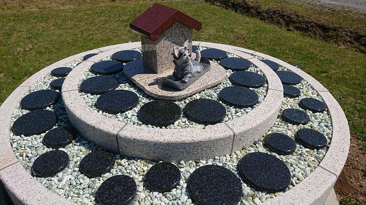 石狩はまなす墓苑 ペットのための永代供養墓 So long