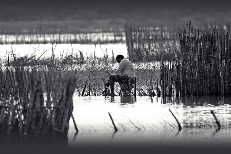 Traditioneller Fischfang der Tsonga Südafrika