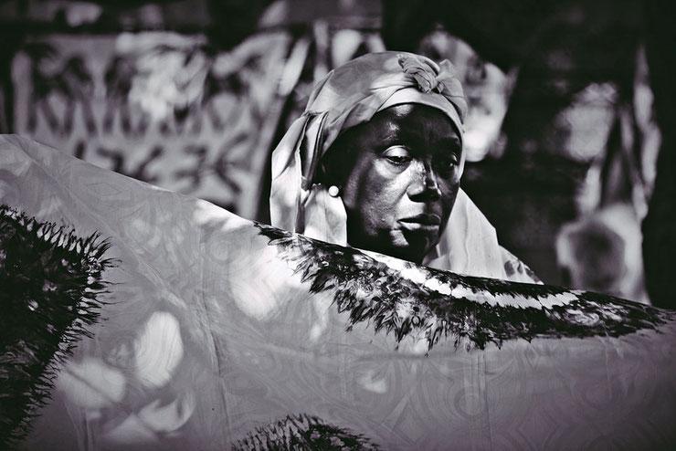 Marktfrau in Serrekunda II Gambia