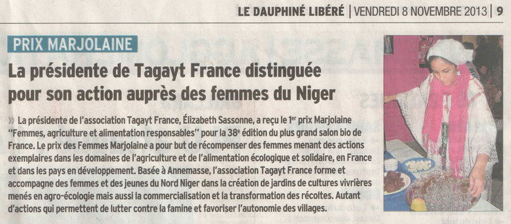 Tagayt Prix Marjolaine 2013