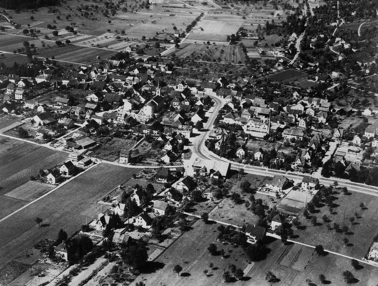 1949: Das noch ländliche Reinach