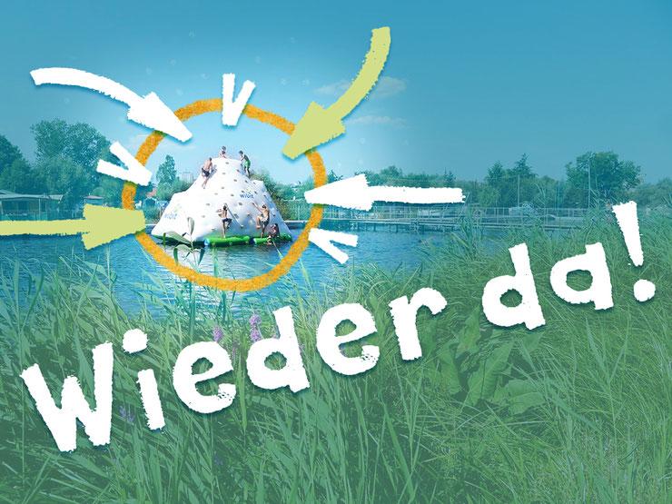 Die Sommerattraktion im Flussbad Rostock, der »Eisberg«, ist wieder da!