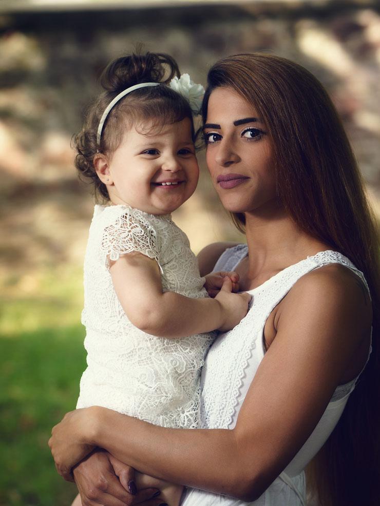 Iman -> Mutter, Tochter Shooting