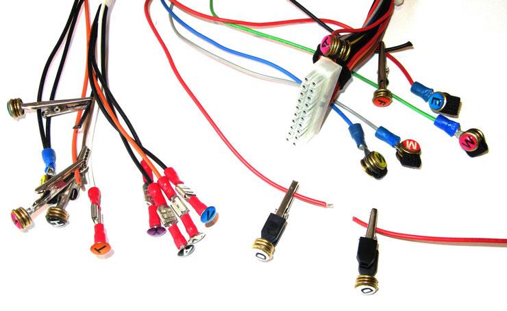 Flugzeug-Elektrik - Neuartiges Kabelmarkierungssystem für Elektrik ...