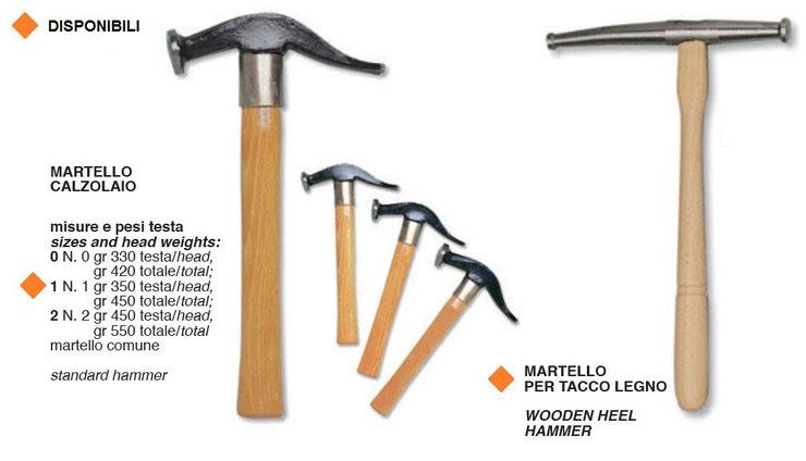 martelli per calzolai