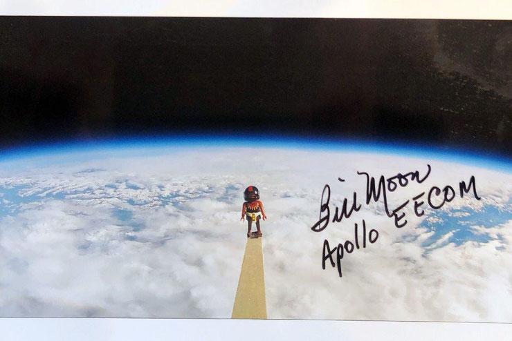 Autograph Bill Moon Autogramm