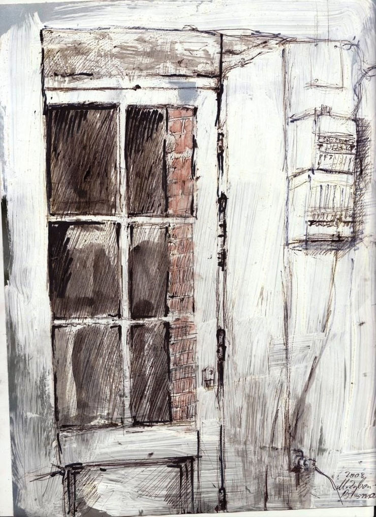 Tür zum Innenhof, 2003.