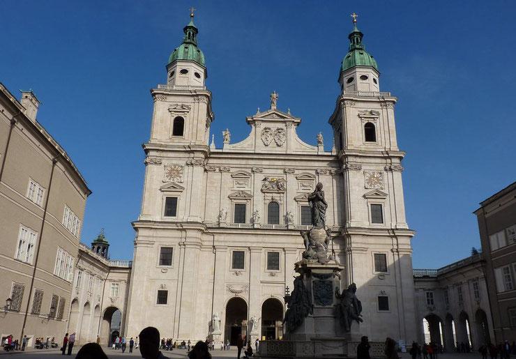 Salzburg Domplatz