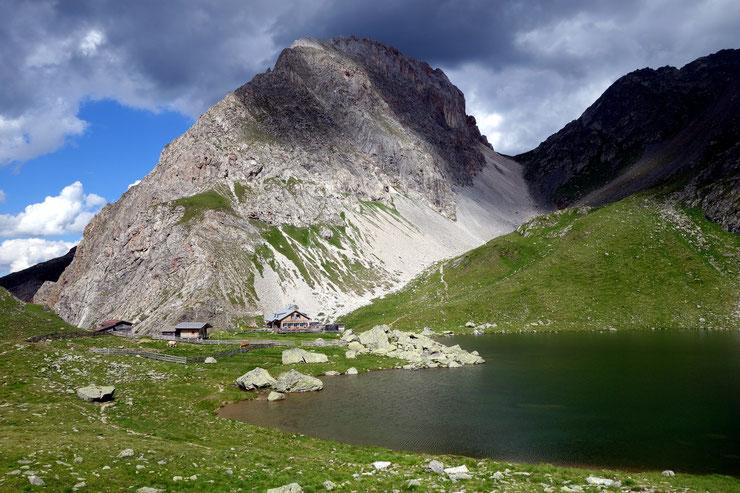 Obstansee, Obstanseehütte und der Rosskopf
