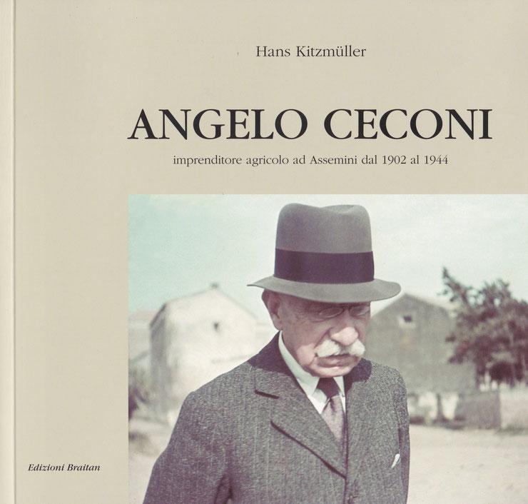 Il conte Angelo Ceconi a passeggio verso Terramaini 1941 (archivio Ceconi - Kitzmüller).