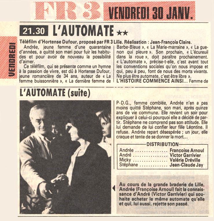 Télé Poche - 24 au 30 janvier 1981